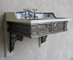 porcelain wall mount sink porcelain cauldon wall mounted sink brackets