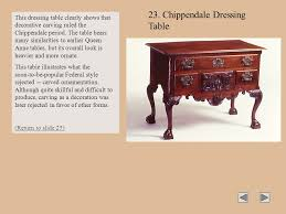 What Is A Decoration Styles Of American Furniture Ppt Download