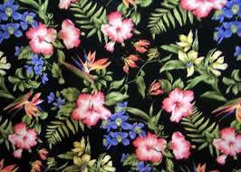 Upholstery Fabric Hawaii Nurie Barkcloth Hawaii Fabrics Vintage Style Hawaiian Fabric
