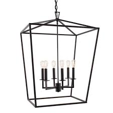 black lantern pendant light matte black six light pendant norwell lantern pendant lighting