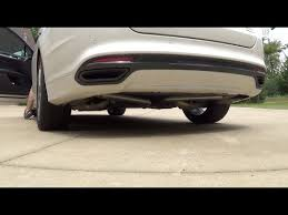 2013 ford fusion exhaust muffler delete on the 2013 ford fusion titanium