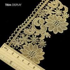 gold lace ribbon popular gold lace ribbon wedding buy cheap gold lace ribbon