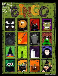21 sets of free printable halloween bingo cards