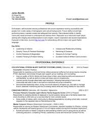 Resume For Military Military Resume Format Resume Format And Resume Makermilitary