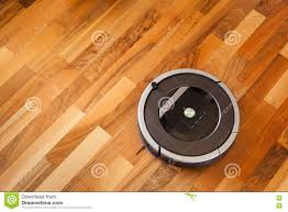 Mops For Laminate Wood Floors Robotic Vacuum Cleaner On Laminate Wood Floor Smart Cleaning Tec