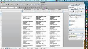 Excel Mail Merge Template Mail Merge For Mac Labels