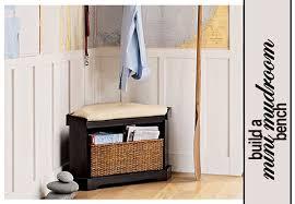 Corner Bench With Storage Wonderful Small Entryway Bench With Storage Mini Mudroom Corner