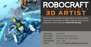 Concept Artist Job Description Robocraft Jobs At Freejam
