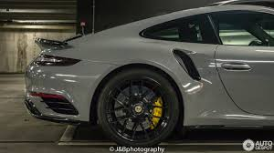 grey porsche 911 turbo porsche 991 turbo s mkii 5 january 2017 autogespot porsche