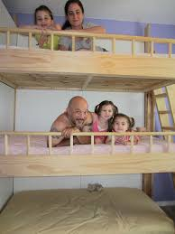Plans For Building Triple Bunk Beds by Custom Made Triple Bunk Beds