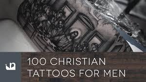 100 christian tattoos for men youtube