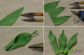leaf ribbon how to make a pink ribbon flower brooch for pandahall