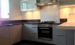 cuisine rouen déco cuisine blanche plan de travail gris 79 rouen cuisine
