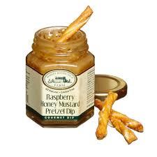 raspberry honey mustard pretzel dip september greetings from everything cheese