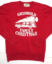 griswold family christmas vacation sweater large national lampoon
