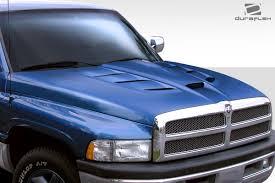 Dodge Ram 94 - 94 01 dodge ram viper look duraflex body kit hood 113009 ebay