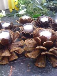 pine cone tea light holder 10 ways to use pinecones at your wedding pinecone weddings and