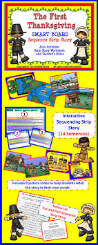 smartboard thanksgiving sequencing story worksheet directions