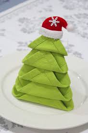 tree napkin fold marmite et ponpon