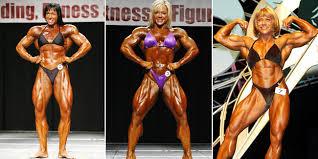 luar biasa wanita wanita ini ubah tubuhnya jadi super kekar