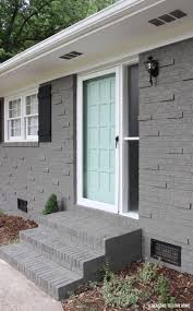 paint schemes for houses decoration gray painted brick house brick house color schemes