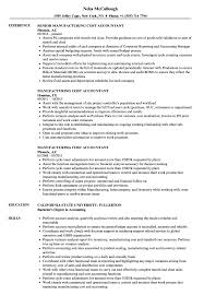 manufacturing resume examples manufacturing cost accountant resume samples velvet jobs