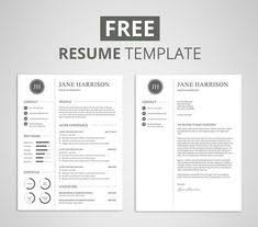 cover letter resume template resume template 3 page cv template design cv