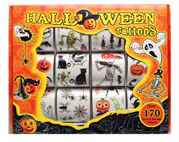 halloween kids cartoons 12pcs box kids toy cartoon halloween tattoo sticker temporary