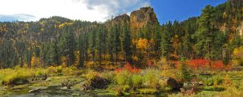 scenic byway spearfish canyon scenic byway black hills badlands south dakota