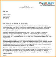 9 letter of recommendation format receipts template