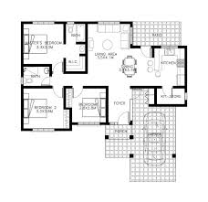 bungalow house plan awesome 3 bedroom bungalow house plans in the philippines new home