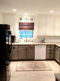 painted kitchen cabinets with wood doors u2013 quicua com