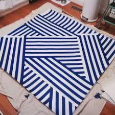 diy oilcloth rug u0026 placemat u2013 a modern fete