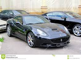Ferrari California Black - ferrari california editorial image image 39952485