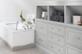 Built In Bathroom Cabinets Built In Bathroom Cabinets Bathroom Transitional With Built In