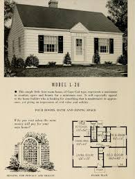 1950s Ranch House Plans What U0027s That House A Guide To Cape Cod Style Houses Porch Advice