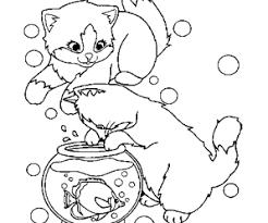 petits chats coloriage petits chats en ligne gratuit a imprimer