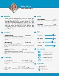 1 Page Resume Templates Resume Template Pages 41 One Page Resume Templates Free Samples