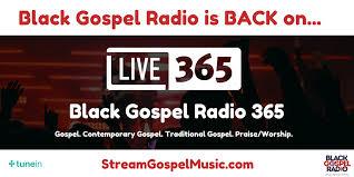 black gospel radio the internets 1 gospel radio station