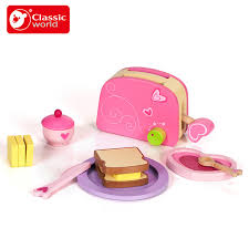 klassische welt kinder küche frühstück kochen brot toaster set - Toaster Kinderk Che