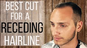 best cut for a receding hairline hdstyles youtube