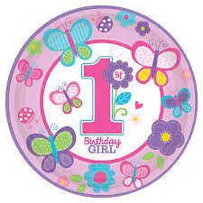 1st birthday girl sweet 1st birthday girl plates 1st birthday party supplies