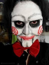 Jigsaw Halloween Makeup Jigsaw Makeup By Nataliaferreira On Deviantart