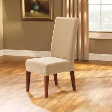 Sure Fit Dining Room Chair Covers Chair Covers For Dining Room Chairs Sure Fit Shorty Stretch Pique