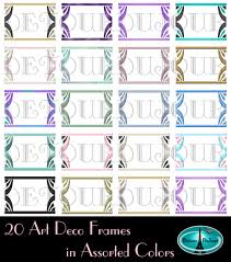 printable art deco borders 15 off20 coupon code art deco frames art deco borders art deco