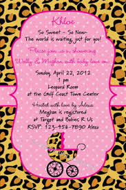 cheetah baby shower sweet cheetah baby shower invitation file diy printable shophandmade