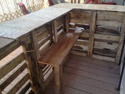 Ideas For A Bar Top 51 Best Outdoor Bar Images On Pinterest Pallets Pallet Bar And