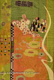 Modern Abstract Rugs Klimt Modern Abstract Rug Wall Embroidered 4ft X 6ft