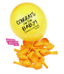 balloon delivery new orleans badass balloons congrats on the baby the basketry delivers