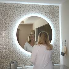 round makeup mirror with lights lighted vanity mirror